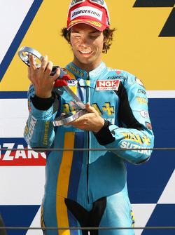 Подиум: второе место - Крис Вермёлен
