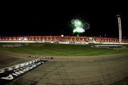 Feux d'artifice de California Speedway