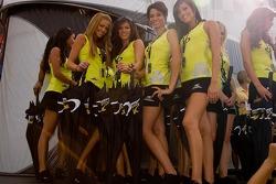 The charming California Speedway Girls