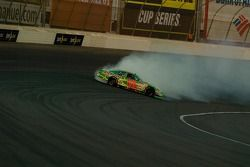 J.J. Yeley spins