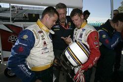 Dirk Muller, Dale Blanc et Peter Dumbreck