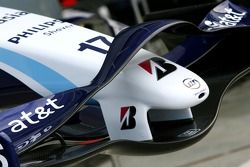 WilliamsF1 Team, FW29, ön kanat