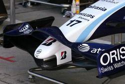 Williams F1 Team yeni ön kanat detay