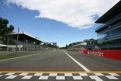 Marche sur le circuit de Monza