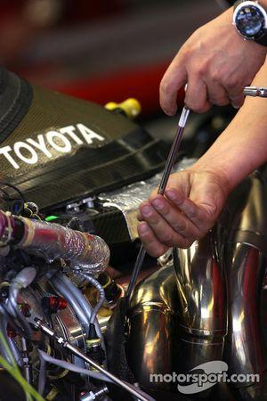 Toyota Racing mechanic
