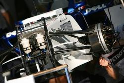 BMW Sauber F1 Team, F1.07, detail
