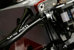 Toyota Racing, TF107, detail