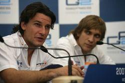 Giorgio Pantano and Vitaly Petrov