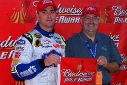 El ganador de la pole, Jimmie Johnson