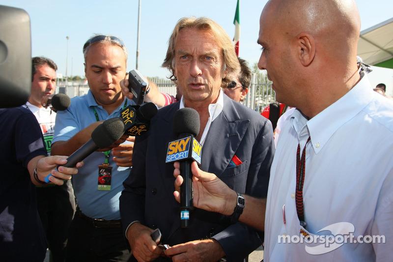Luca di Montezemolo, Scuderia Ferrari, FIAT Yönetim Kurulu Başkanı ve Başkanı, Ferrari arrives, trac