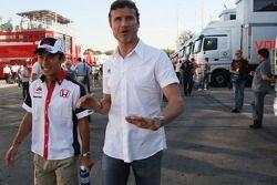 David Coulthard, Red Bull Racing and Takuma Sato, Super Aguri F1