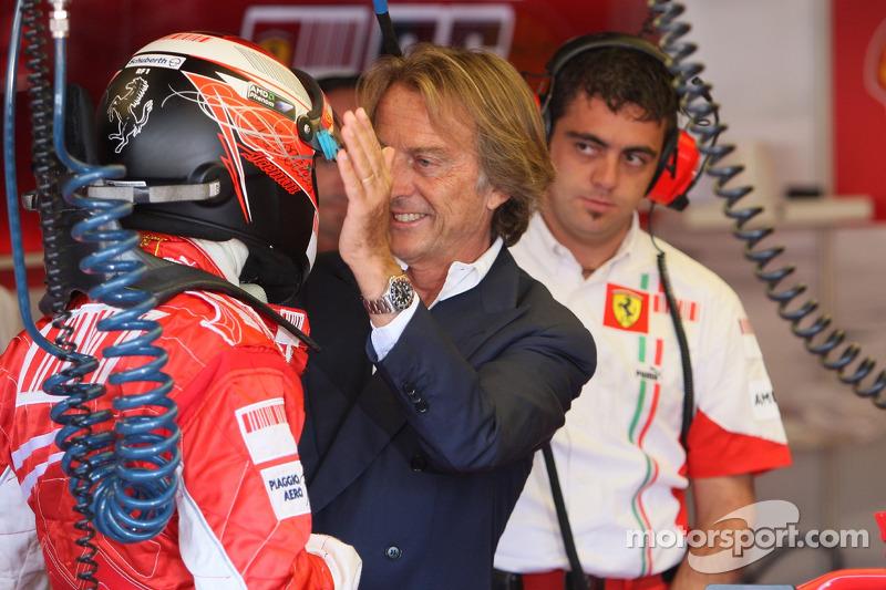 Luca di Montezemolo, Scuderia Ferrari, FIAT Yönetim Kurulu Başkanı ve Başkanı, Ferrari arrives, gara