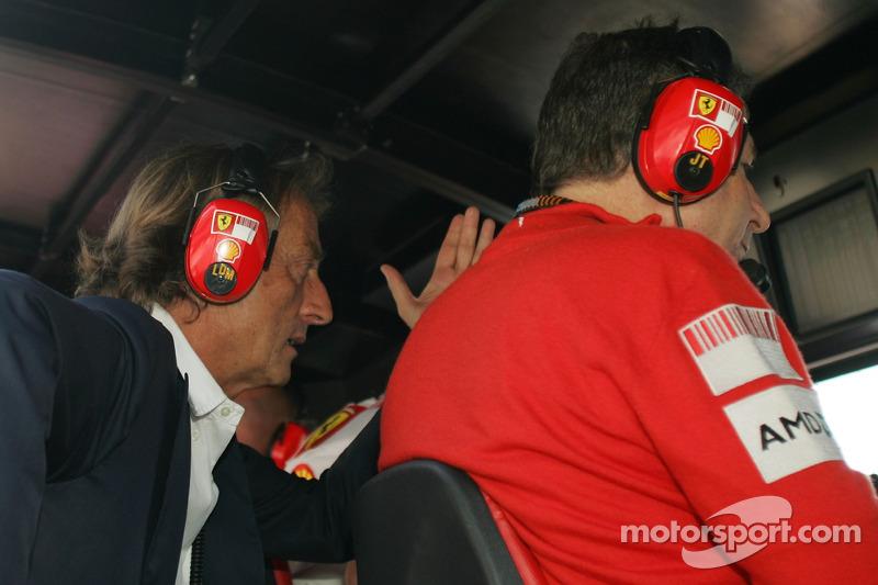 Luca di Montezemolo, Scuderia Ferrari, FIAT Yönetim Kurulu Başkanı ve Başkanı, Ferrari ve Jean Todt,