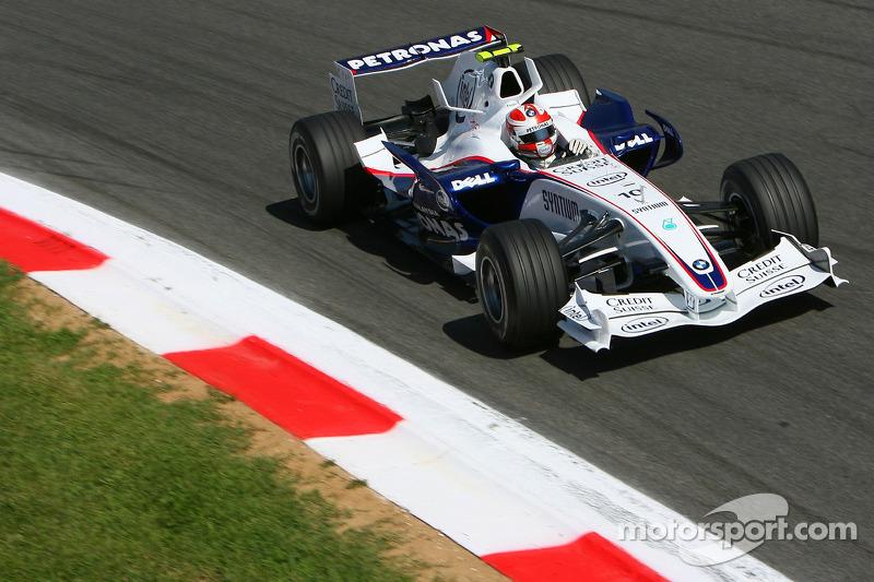 Robert Kubica, BWM Sauber - Grand Prix Włoch 2007