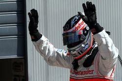 El ganador de la pole, Fernando Alonso