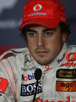 FIA press conference: pole winner Fernando Alonso