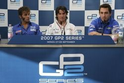 Giorgio Pantano, Luca Filippi and Timo Glock