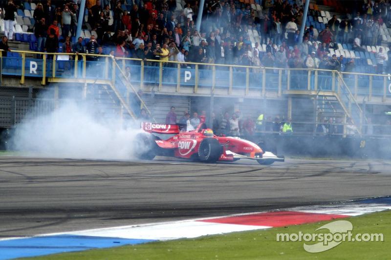 2007: Justin Wilson wint op Assen