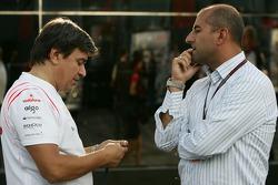 Fabrizio Borra, Physiotherapist of Fernando Alonso with Ivan Capelli