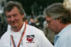 Ilkka Kiwimaki, Former rally co-driver with Keke Rosberg