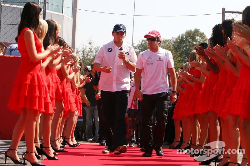 Fernando Alonso, Robert Kubica - Grand Prix Włoch 2007