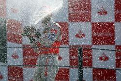 Podio: segundo lugar Lewis Hamilton