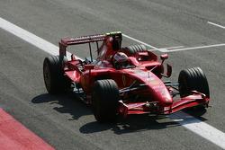 Third place Kimi Raikkonen