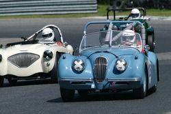 1954 Jaguar XK 120: Michael Kaleel