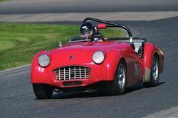 1957 Triumph TR3: David Spiwak