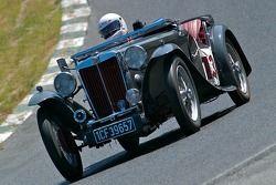 1939 MG TB - conduite par John Schieffelin