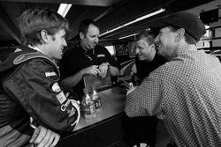 Carl Edwards and John Andretti