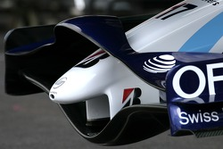 Williams F1 Team ön kanat detay