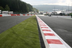 Spa-Francorchamps track walk: changes to first corner