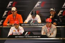 Фернандо Алонсо, McLaren Mercedes, Фелипе Масса, Scuderia Ferrari, Адриан Сутиль, Spyker F1 Team, Ро