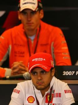 Фелипе Масса, Scuderia Ferrari и Адриан Сутиль, Spyker F1 Team