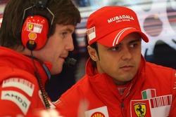 Rob Smedly, Scuderia Ferrari, Pist Mühendisi, Felipe Massa ve Felipe Massa, Scuderia Ferrari