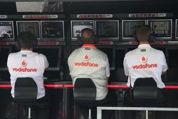 Ron Dennis, McLaren, Takım Patronu, Yönetim Kurulu Başkanı, pit wall gantry