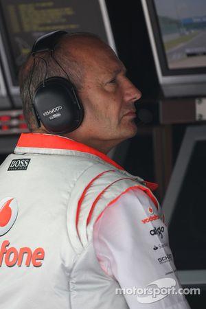 Руководитель команды McLaren Рон Деннис