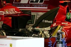 Scuderia Ferrari, F2007, motor detay