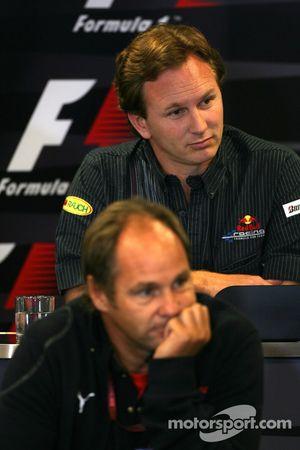 Gerhard Berger, Scuderia Toro Rosso, 50% Team Co Owner, Christian Horner, Red Bull Racing, Sporting