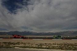 #40 Hyper Sport Mazda RX-8: Joe Foster, Charles Espenlaub, Patrick Dempsey, #30 Racers Edge Motorspo