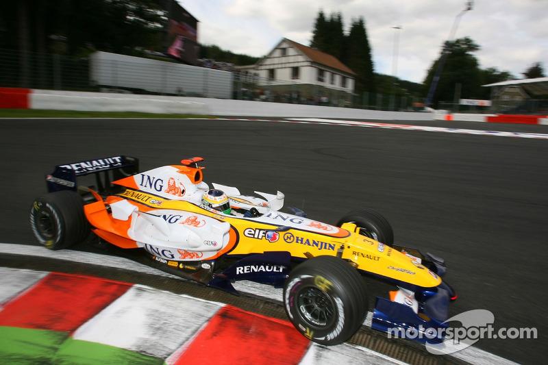#3: Giancarlo Fisichella, Renault F1 Team, R27