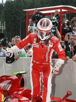 Kimi Raikkonen, Scuderia Ferrari Qualified 1st place