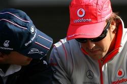 Timo Glock, Test Pilotu, BMW Sauber F1 Team, Fernando Alonso, McLaren Mercedes