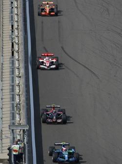 Rubens Barrichello, Honda Racing F1 Team, RA107, Vitantonio Liuzzi, Scuderia Toro Rosso, STR02 ve Ta