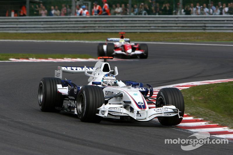 Nick Heidfeld, BMW Sauber F1 Team, Ralf Schumacher, Toyota Racing