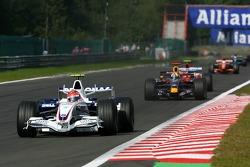Robert Kubica, BMW Sauber F1 Team, F3.07, David Coulthard, Red Bull Racing, RB3