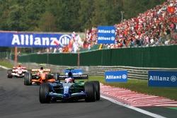 Rubens Barrichello, Honda Racing F1 Team, RA107, Sakon Yamamoto, Spyker F1 Team, F8-VII-B