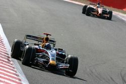 David Coulthard, Red Bull Racing, RB3, Adrian Sutil, Spyker F1 Team, F8-VII-B