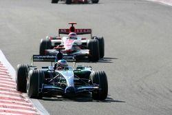 Jenson Button, Honda Racing F1 Team, RA107, Takuma Sato, Super Aguri F1, SA07
